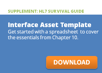Interface asset template