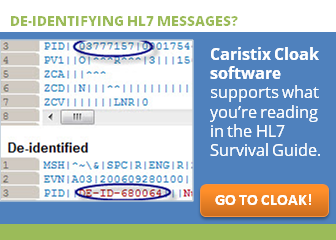 HL7® Survival Guide: Chapter 9 Message Samples and Test